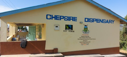 Photo of the Chepsire Health Dispensary building
