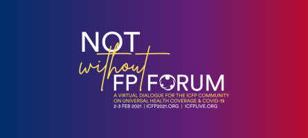 Logo for the ICFP not without fp forum